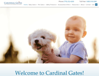 cardinalgates.com screenshot
