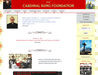 cardinalkungfoundation.org screenshot