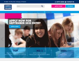 cardinalnewman.ac.uk screenshot