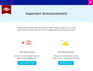 cardinalscholars.com screenshot