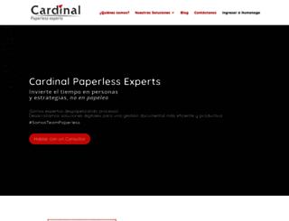 cardinalsystems.com.ar screenshot