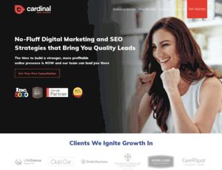 cardinalwebsolutions.com screenshot