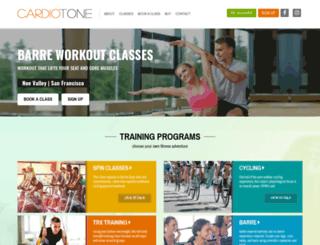 cardio-tone.com screenshot