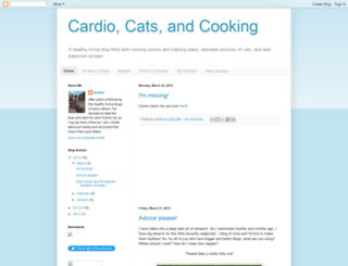 cardiocatsandcooking.blogspot.com screenshot