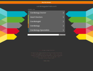 cardiologydomain.com screenshot