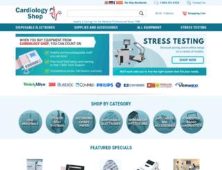 cardiologyshop.com screenshot