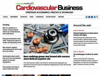 cardiovascularbusiness.com screenshot