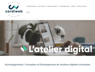 cardiweb.com screenshot