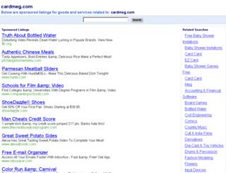 cardmeg.com screenshot