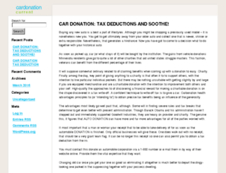 cardonationcurrent.info screenshot