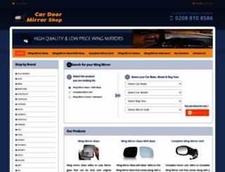 cardoormirrors.com screenshot