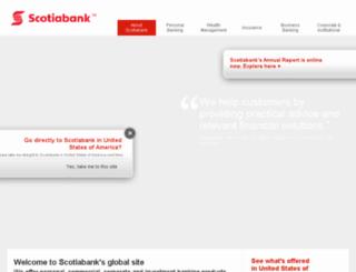 cardrewards.scotiabank.com screenshot