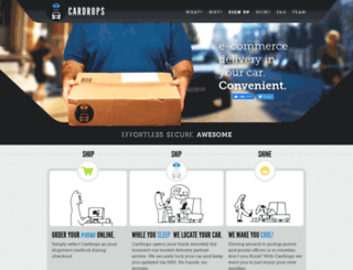 cardrops.com screenshot