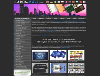 cards-mart.com screenshot