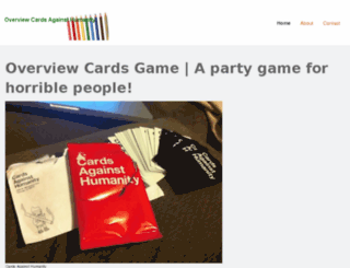 cardsagainsthumanitygamereview.jimdo.com screenshot