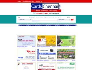 cardschennai.com screenshot