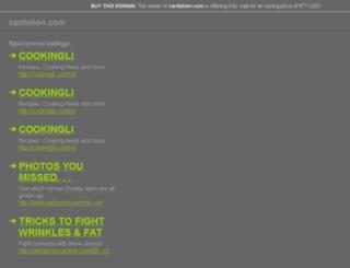 cardshen.com screenshot