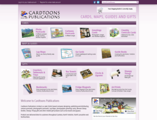 cardtoons.co.uk screenshot