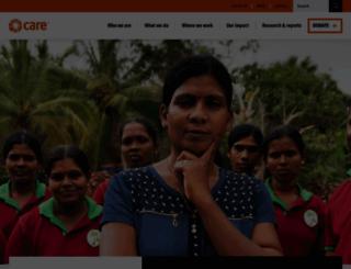 care-international.org screenshot