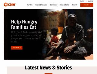 care.org screenshot
