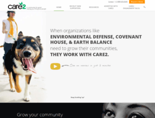 care2services.com screenshot