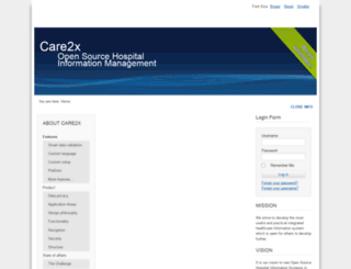 care2x.org screenshot