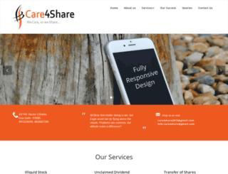 care4share.net screenshot