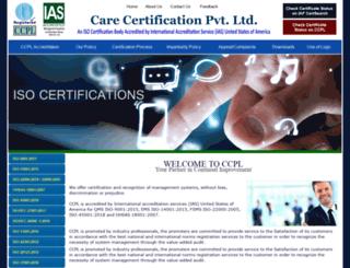 carecertification.com screenshot