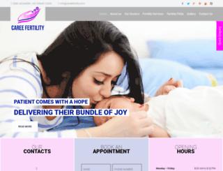 careefertility.com screenshot