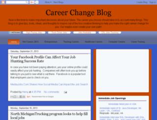 career-change-blog.org screenshot