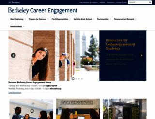 career.berkeley.edu screenshot