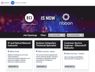career.ecitele.com screenshot