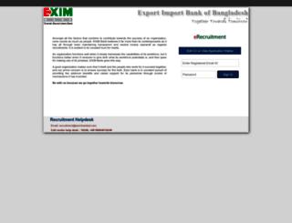 career.eximbankbd.com screenshot