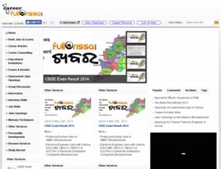 career.fullodisha.com screenshot