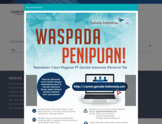 career.garuda-indonesia.com screenshot