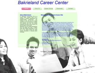 career.hrisbakrieland.com screenshot