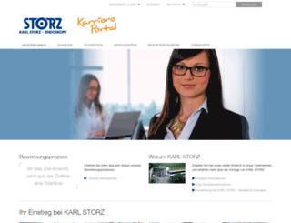career.karlstorz.com screenshot