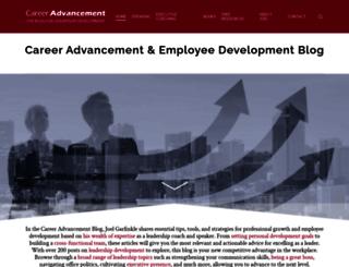 careeradvancementblog.com screenshot