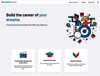 careeralley.com screenshot