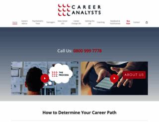 careeranalysts.co.uk screenshot