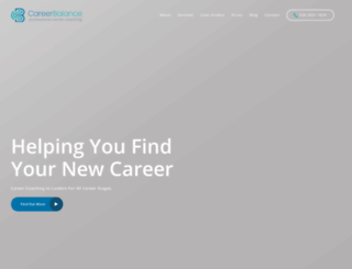 careerbalance.co.uk screenshot