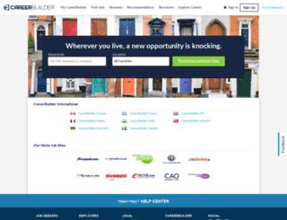 careerbuilder.ch screenshot