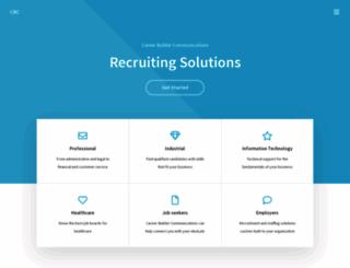 careerbuildercommunications.com screenshot