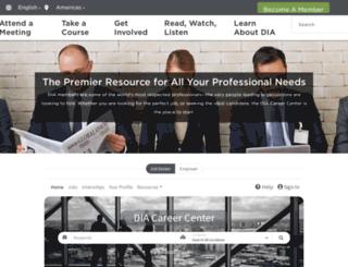 careercenter.diahome.org screenshot
