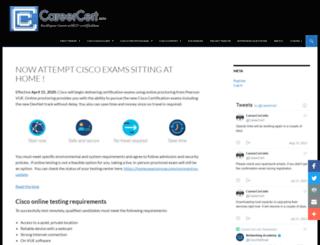 careercert.info screenshot
