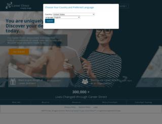 careerdirect-ge.org screenshot