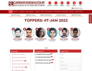 careerendeavour.in screenshot