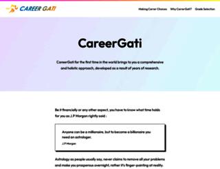 careergati.com screenshot