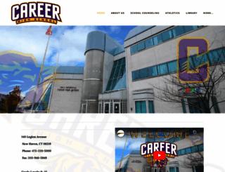 careerhighschool.org screenshot