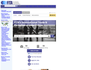 careerhq.fita.org screenshot